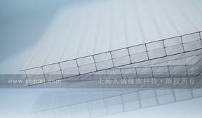 黑龙江三层中空阳光板,10年质保阳光板板厂家直销