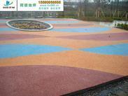扬州彩色透水地坪说明