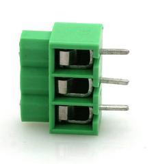 现货DG166-5.0MM间距绿色弹片式照明用端子台DA166