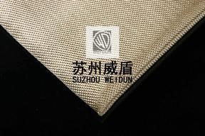 苏州威盾缎纹黄色玻璃纤维防火布