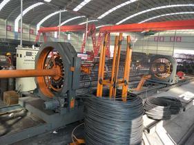供应SYT-2000自动焊接数控钢筋笼滚焊机