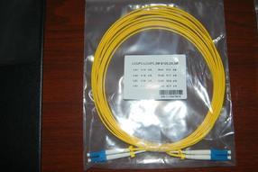 LC-LC单模光纤跳线 电信级3米单模单芯跳线