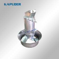 优质高速混合潜水搅拌机,316不锈钢潜水搅拌机0.85kw