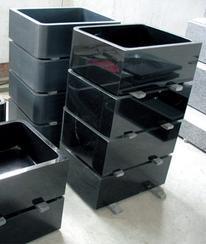 黑色花岗岩洗菜盆SINK KS011
