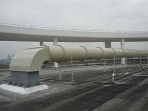 昆山格瑞雅PP空调新风管,排风管,排烟管以及安装