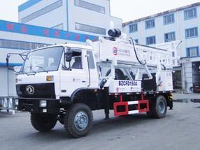 车载式反循环动力头钻机BZCDF150