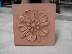 陶艺制品陶土烧结花饰砖--上海永陶建材有限公司