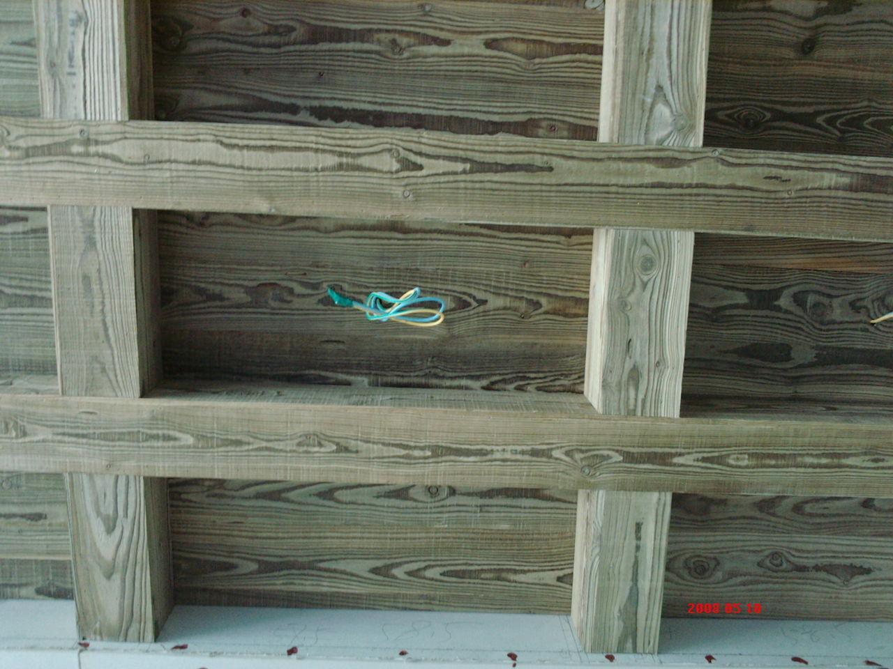 永昌肌理古船木板吊顶装饰-炭化木浮雕板