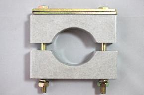 双压板矿用电缆固定夹,电缆固定卡子型号