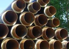 高密度聚氨酯发泡保温钢管
