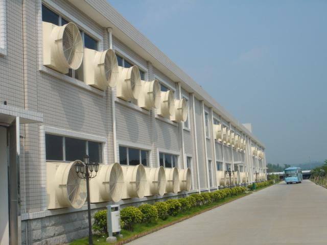 厂房通风降温设备玻璃钢负压风机