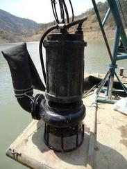 高合金耐磨河道抽沙泵