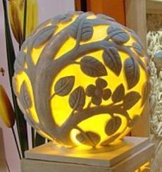砂岩雕塑灯/景观人造石灯定做/古代石灯/卡通雕塑灯