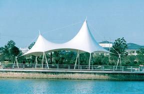 湖南网球场膜结构,门球场