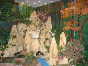 假山塑石、塑石、假山