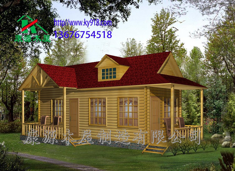 景区小木屋