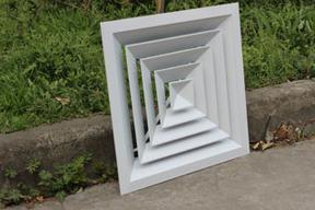 中央空调出风口 铝合金散流器 方形散流器 出风口 风口