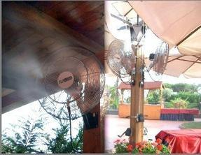 喷雾降温系统PLC