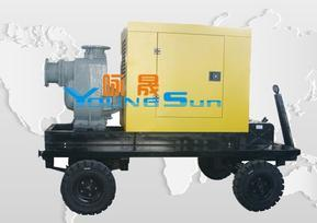 防汛抗旱柴油机自吸泵