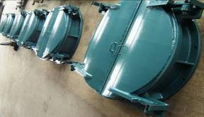 排水侧翻拍门性能与安装