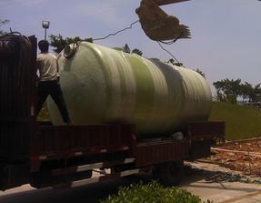 专业制造玻璃钢化粪池 农村一立方化粪池