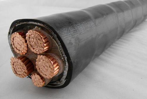 供应3芯\/4芯\/5芯50\/70\/95平方铜芯电缆--3芯\/4