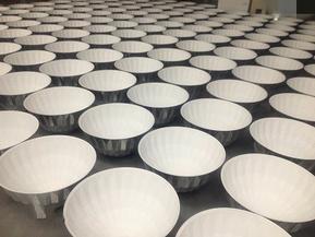 国内首选纳米反光涂层喷涂加工照明反光罩