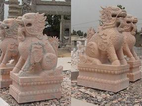 嘉祥央美石雕厂各类石雕工艺品