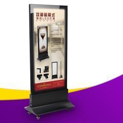 磁吸式双面灯箱 大堂滚动灯箱 LED广告灯箱
