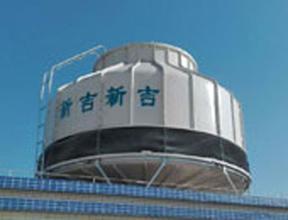 圆形逆流式400T冷却塔 冷却塔供应商