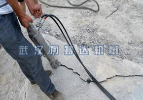 桥面钢筋混凝土结构拆除设备/钢筋混凝土无声破碎设备