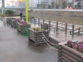 仿木花箱,花坛,城市绿化,绿化小品,景观资材