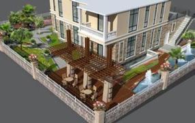 江西私家别墅花园景观设计的要素是什么?