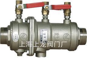 """""""龙申""""牌LHS712X型低阻力倒流防止器"""