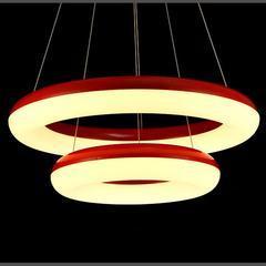 现代客厅吊灯简约餐厅灯卧室灯创意LED吊灯吧台灯具/救生圈