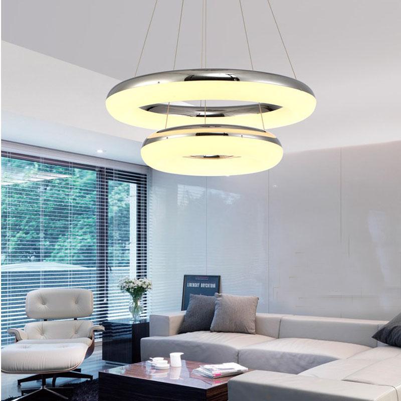 现代客厅吊灯简约餐厅灯卧室灯创意led吊灯吧台灯具