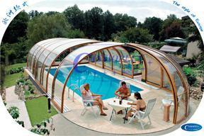 泳池伸缩阳光房