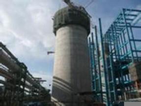 45米烟囱新建