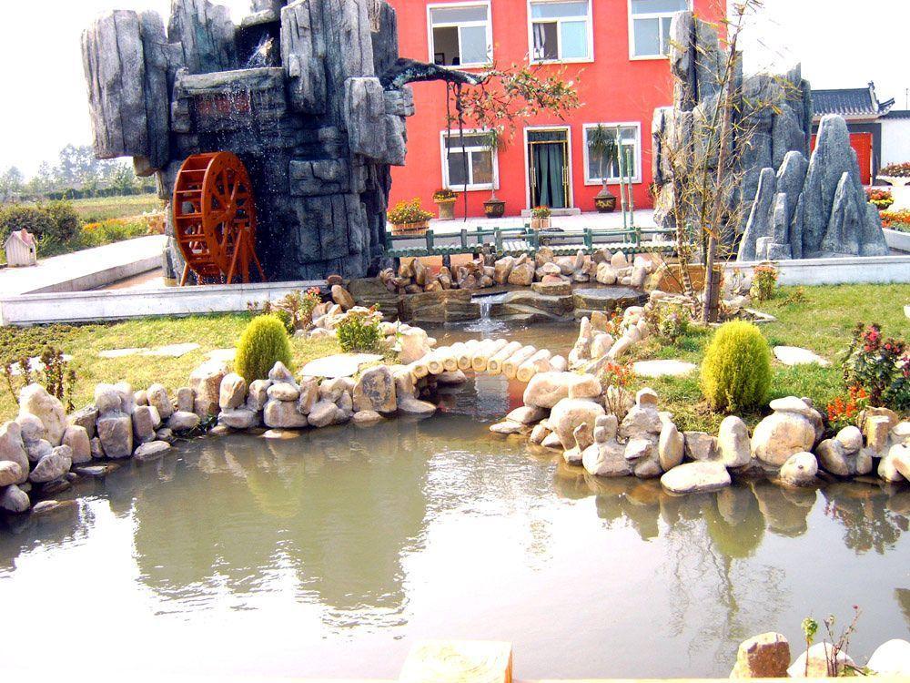 假山奇石,园林绿化,凉亭长廊,仿古建筑,景观建筑