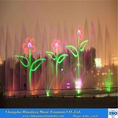 湖南喷泉 长沙喷泉销售音乐喷泉水幕激光电影