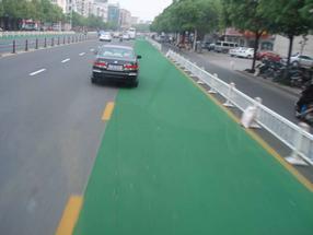 彩色路面,薄层彩色路面材料