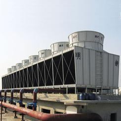 明新冷却塔厂家 低噪型冷却塔 方形冷却塔