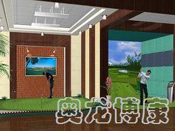 模拟高尔夫设备