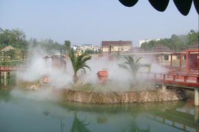 商业广场住宅区喷雾降温,景观造雾设备,喷雾系统,厂家直销喷雾,