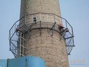 烟囱平台护网刷油漆防腐
