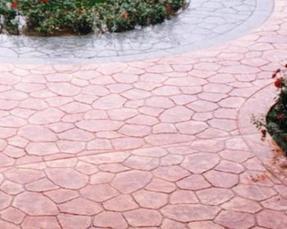 供应苏州彩色混凝土艺术地坪、透水混凝土