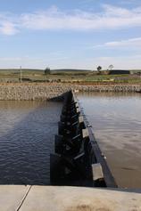 内蒙古兴和县倾斜式水力自控翻板闸