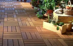 园林景观高品质塑木地板
