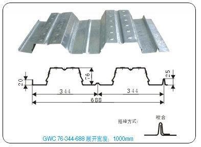 钢结构厂房用压型钢板,楼承板