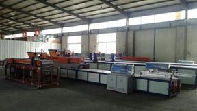 海产养殖用玻璃钢管拉挤设备